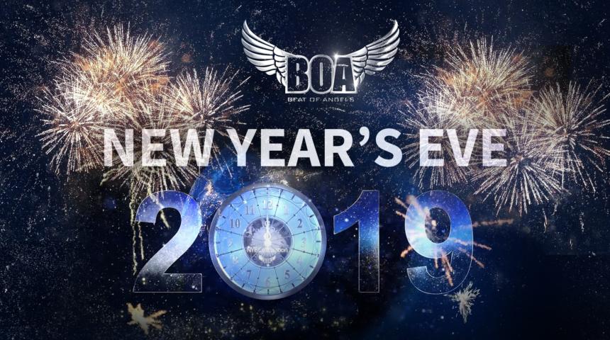 New Year's Eve 2019 at Club BOA