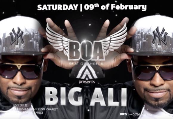 WeOwnTheNight – Big Ali @ BOA