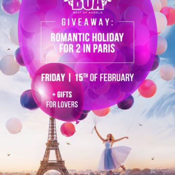 BOAonFridays – From Paris With Love